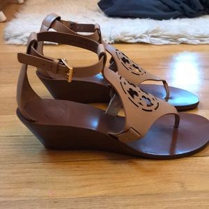 8d240bdd20af5 Tory Burch Shoes - Tory Burch Zoey 50 MM Wedge Sandal